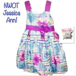 ‼️🔥NWOT JESSICA ANN Floral Print Dress!🔥‼️